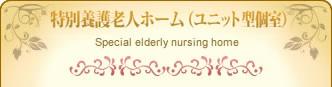 特別養護老人ホーム(ユニット型個室)